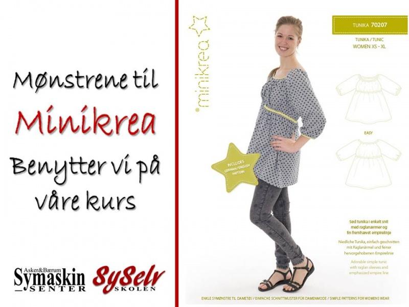 33a43968bec7 Minikrea Tunika voksen - Asker og Bærum Symaskinsenter